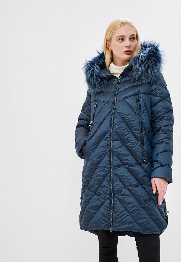 Купить Пуховик Conso Wear, mp002xw1h3xb, бирюзовый, Осень-зима 2018/2019