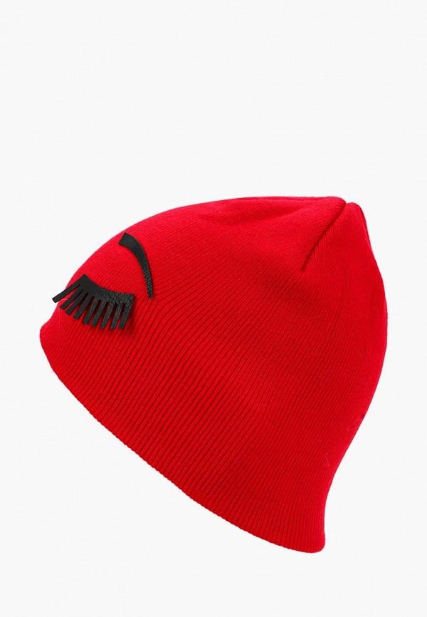 женская шапка colin's, красная