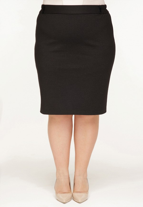 женская прямые юбка gorda bella, черная