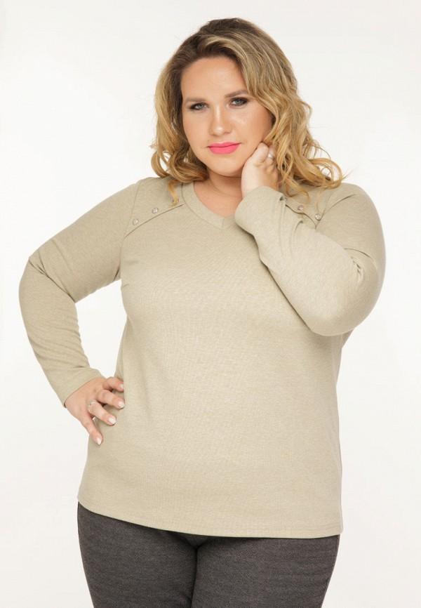 женский пуловер gorda bella, бежевый