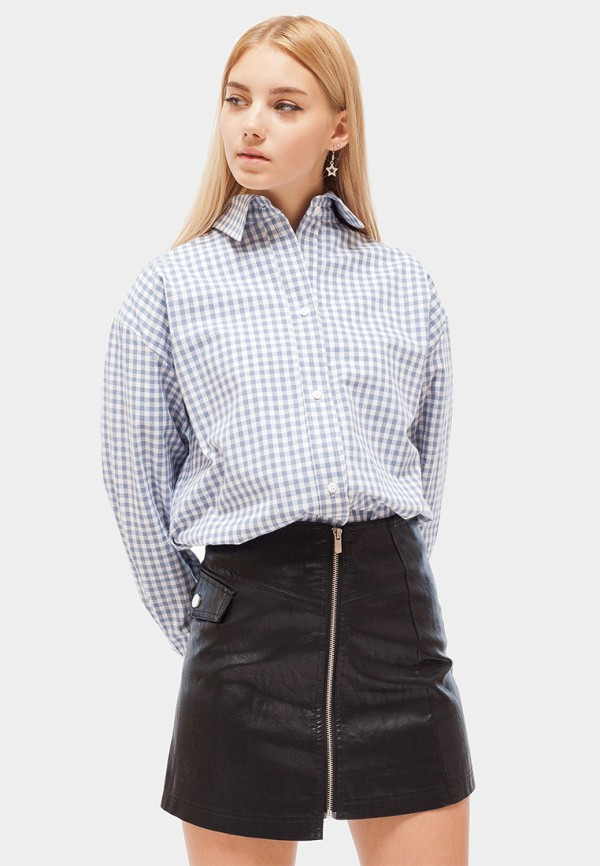 Купить Рубашка Dorogobogato, mp002xw1h4aj, голубой, Осень-зима 2018/2019