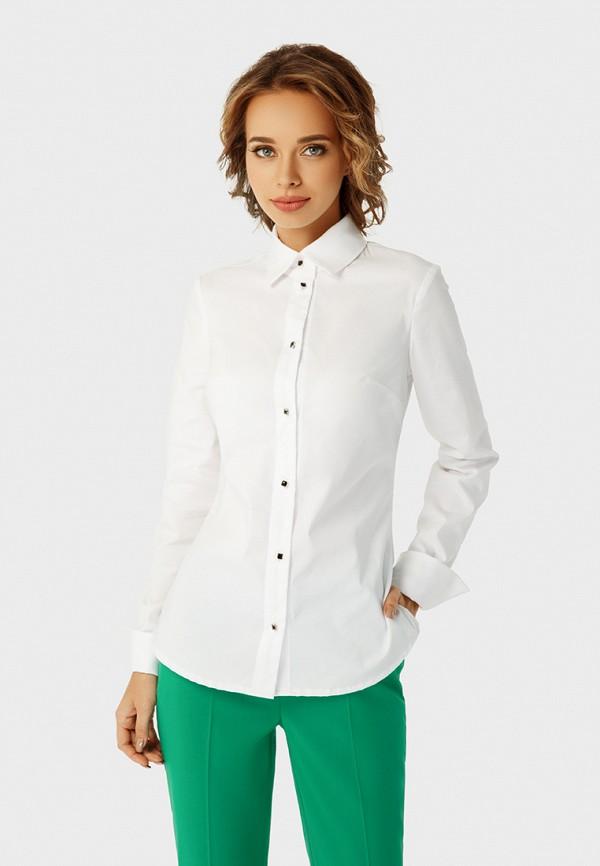 женская рубашка с длинным рукавом anushka by anna pavlova, белая