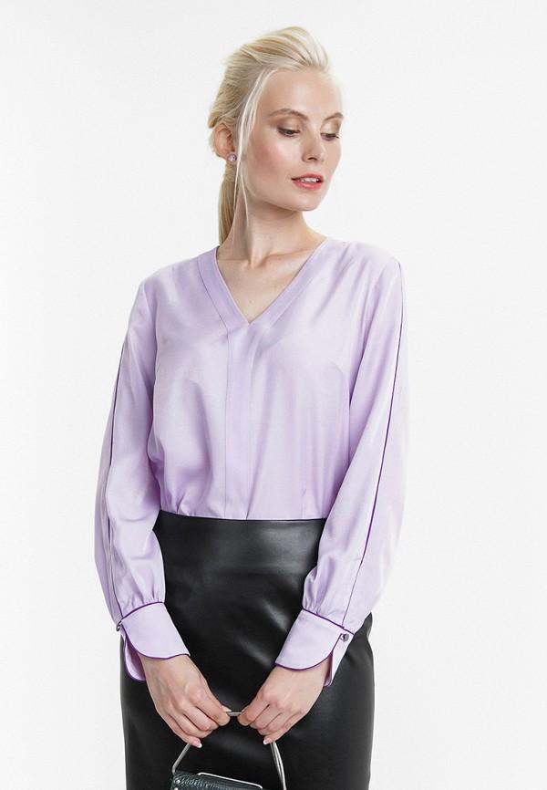женская блузка audrey right, фиолетовая