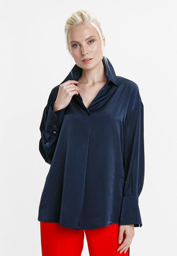 женская блузка audrey right, синяя