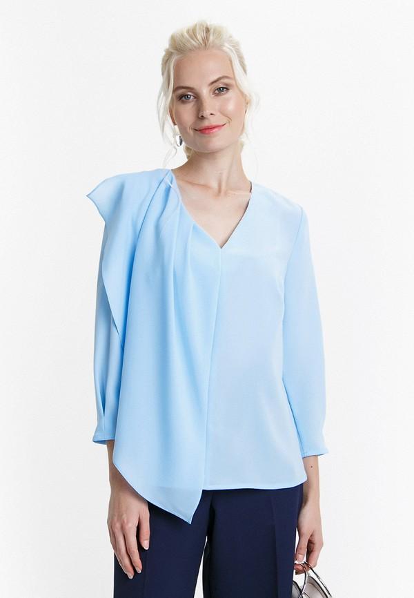женская блузка audrey right, голубая