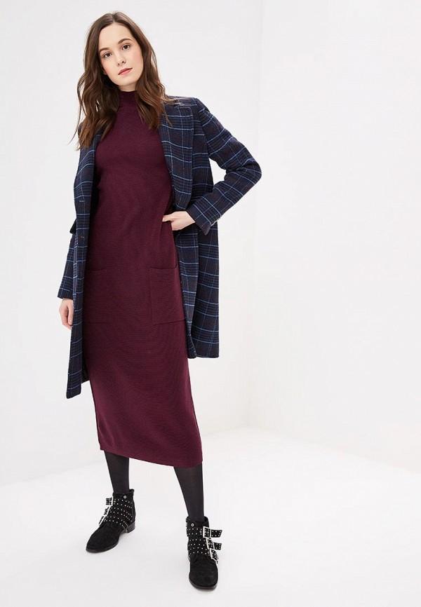женское повседневные платье jacote, бордовое