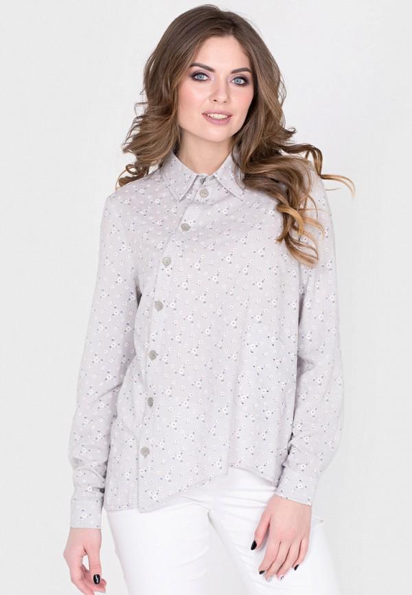 Фото - Женскую блузку Filigrana серого цвета