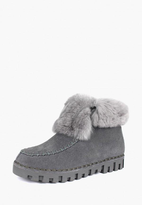 женские ботинки belletta, серые