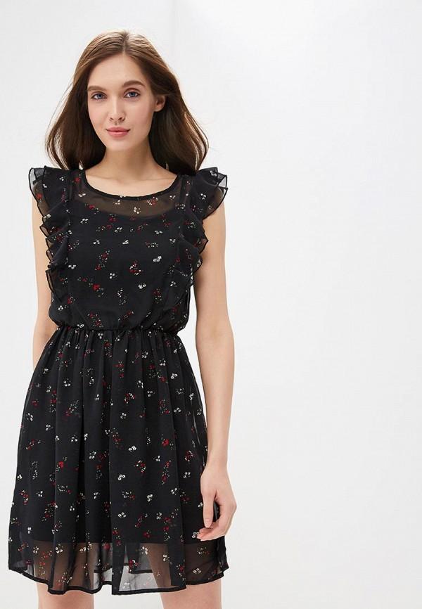 Платье  красный, черный цвета