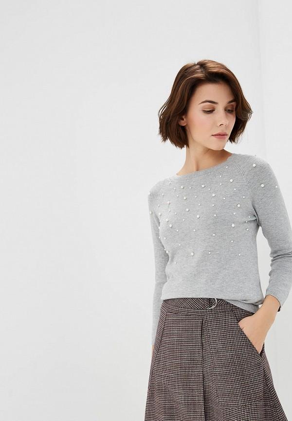 Купить Джемпер Incity, mp002xw1h4ow, серый, Осень-зима 2018/2019