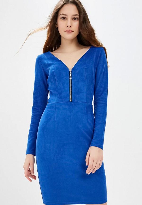 Фото - Женское платье Gorchica синего цвета