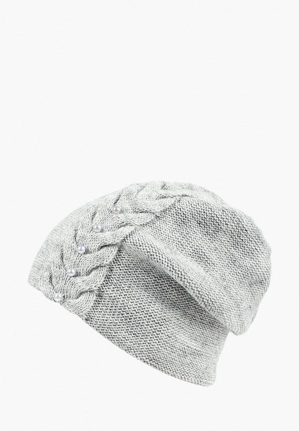 женская шапка staix, серая