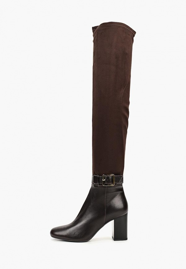 женские ботфорты argo, коричневые