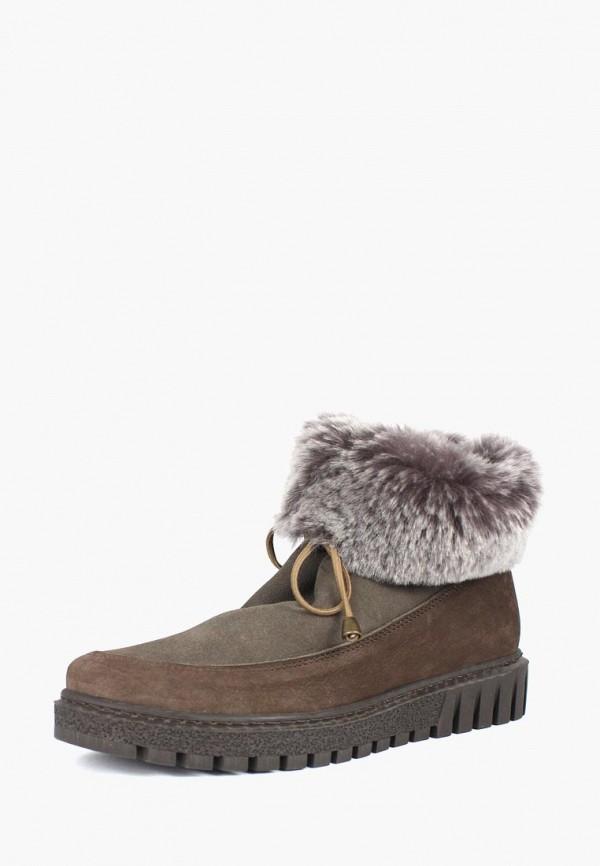 женские ботинки blizzarini, коричневые