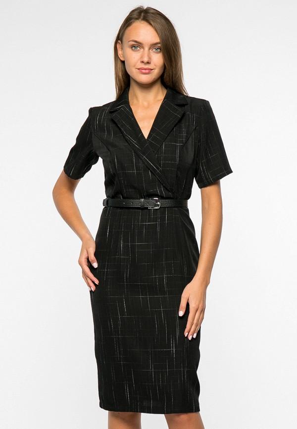 женское платье миди mankato, черное