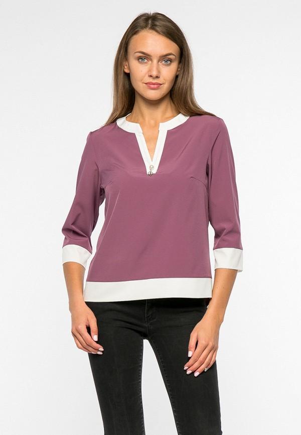 женская блузка mankato, розовая