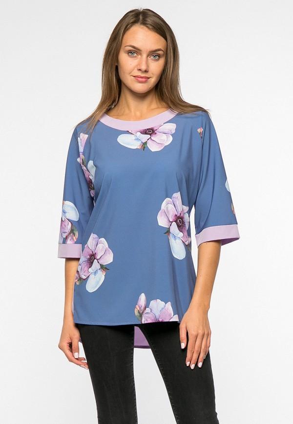 женская блузка mankato, синяя