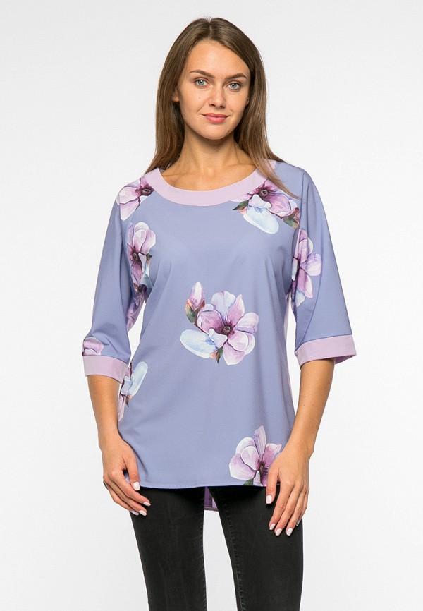 женская блузка mankato, голубая