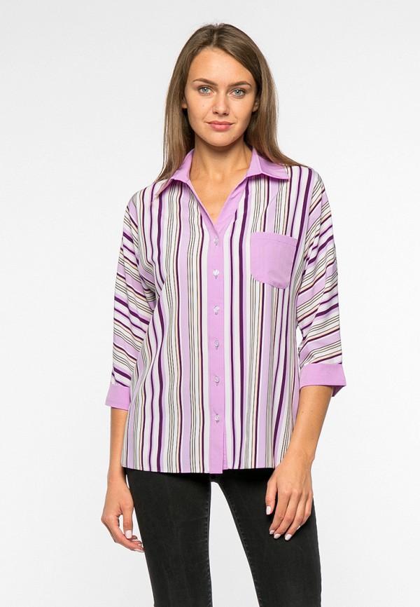 женская блузка mankato, фиолетовая