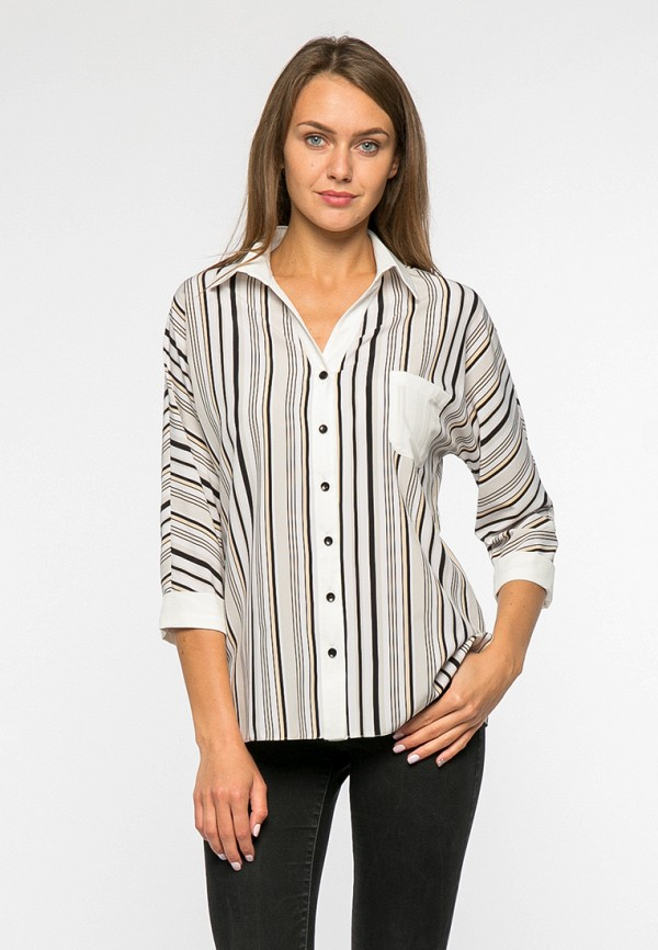 женская блузка mankato, бежевая