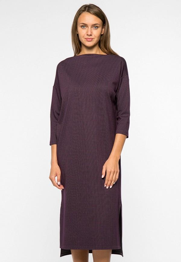 женское платье миди mankato, фиолетовое