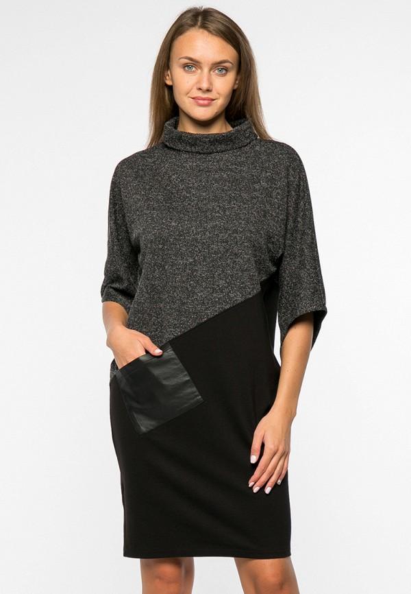 женское повседневные платье mankato, черное