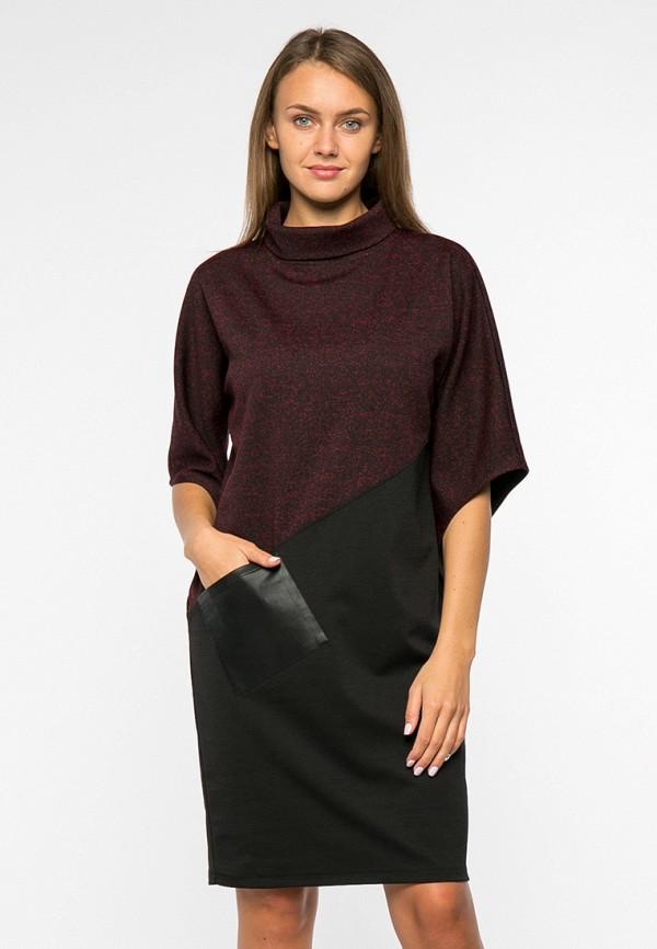 женское повседневные платье mankato, бордовое