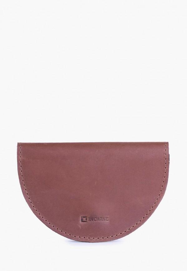 женский кошелёк incarne, коричневый