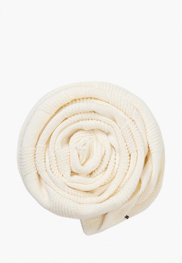 женский шарф finn flare, белый