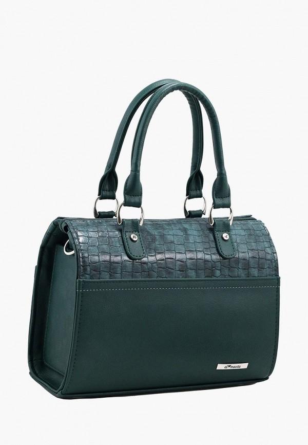 женская сумка el masta, зеленая