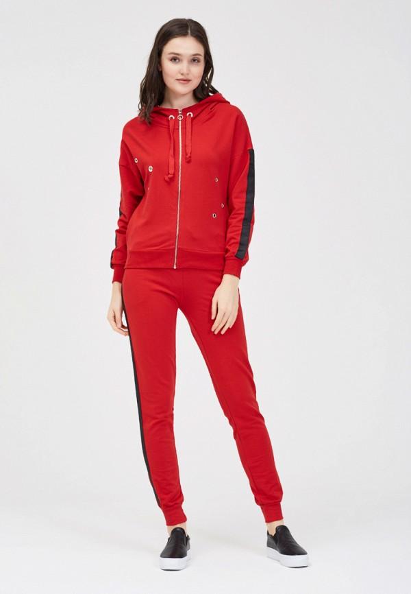 женский спортивные спортивный костюм whitney, красный
