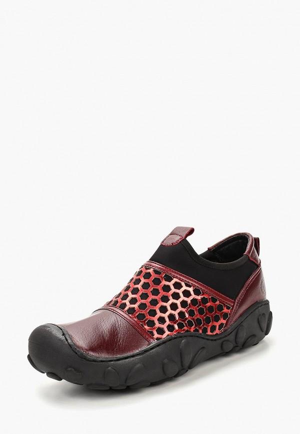 женские кроссовки airbox, бордовые