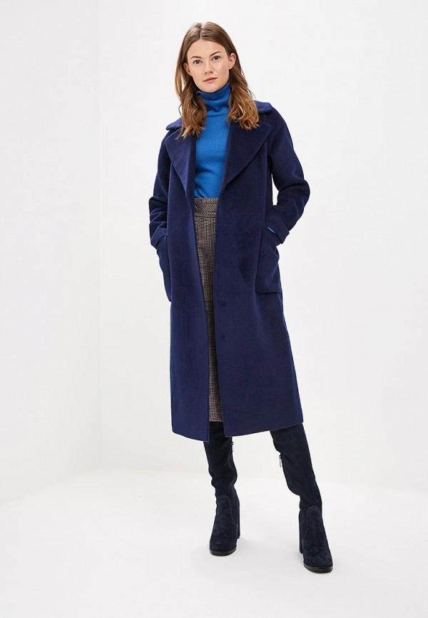женское пальто vivaldi, синее