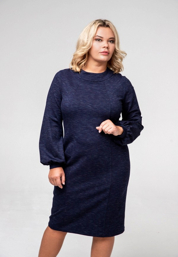 Платье Авантюра Plus Size Fashion Авантюра Plus Size Fashion MP002XW1H6GP plus size long sleeve formal party dress with lace
