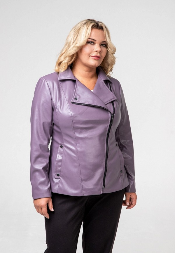 Куртка кожаная Авантюра Plus Size Fashion Авантюра Plus Size Fashion MP002XW1H6GS plus size lace up flare sleeve velvet coat