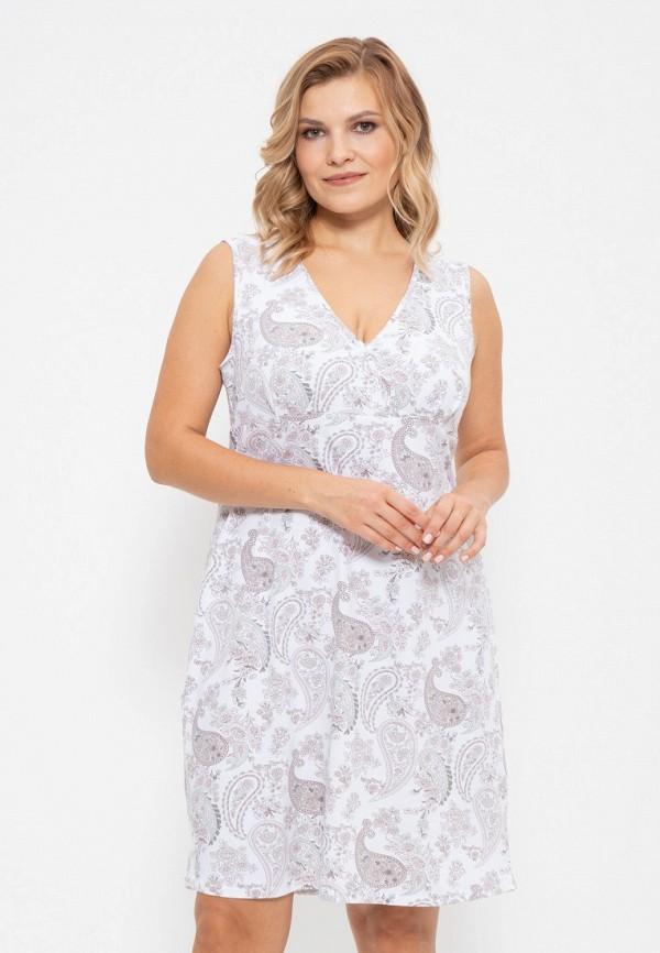 женские сорочка ночная cleo, белые