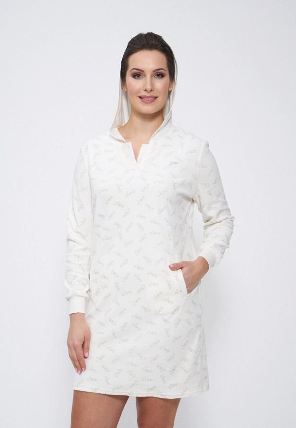 женское платье cleo, белое