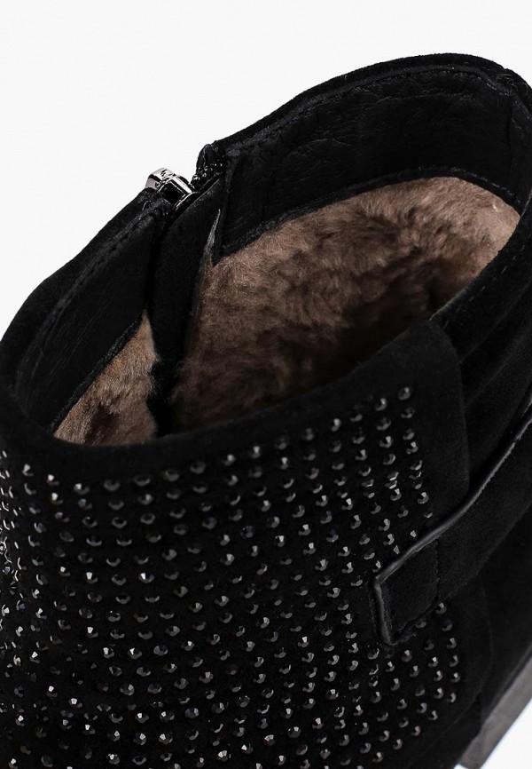 Фото 5 - Женские ботильоны Berkonty черного цвета