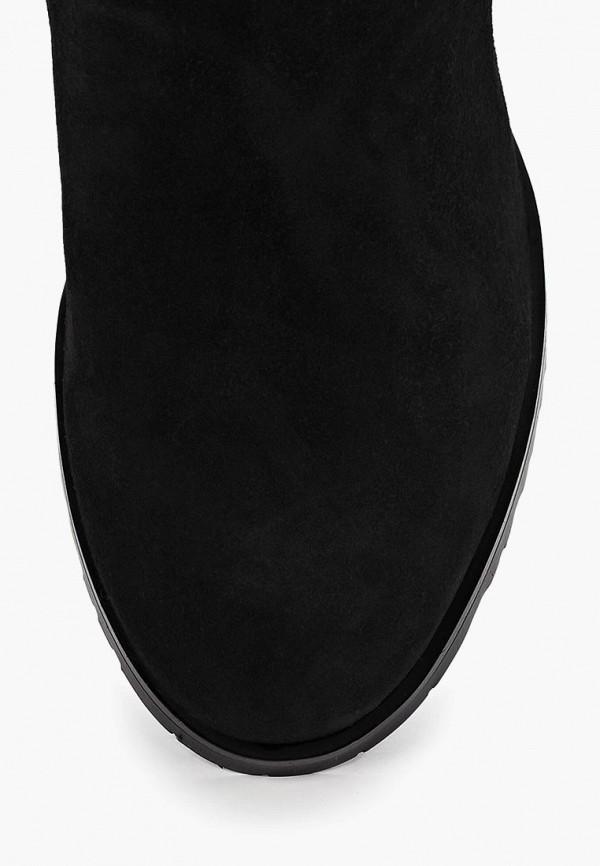 Фото 3 - Женские ботфорты Berkonty черного цвета