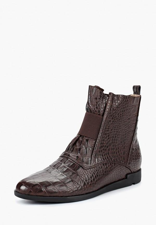 женские ботинки berkonty, коричневые
