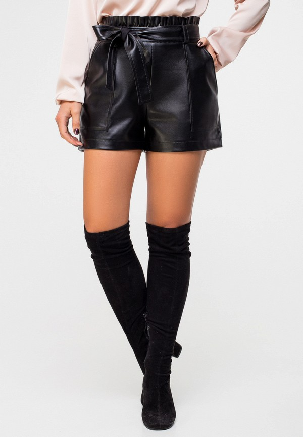 женские повседневные шорты itelle, черные