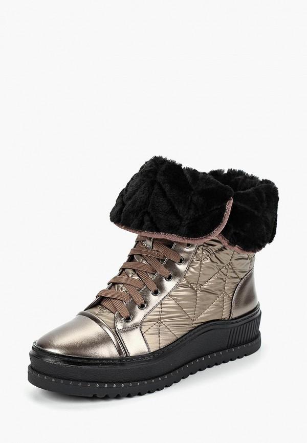 женские ботинки dino ricci, коричневые