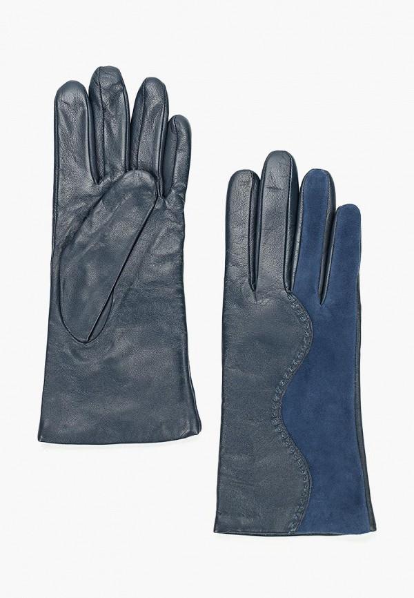 женские перчатки eleganzza, синие