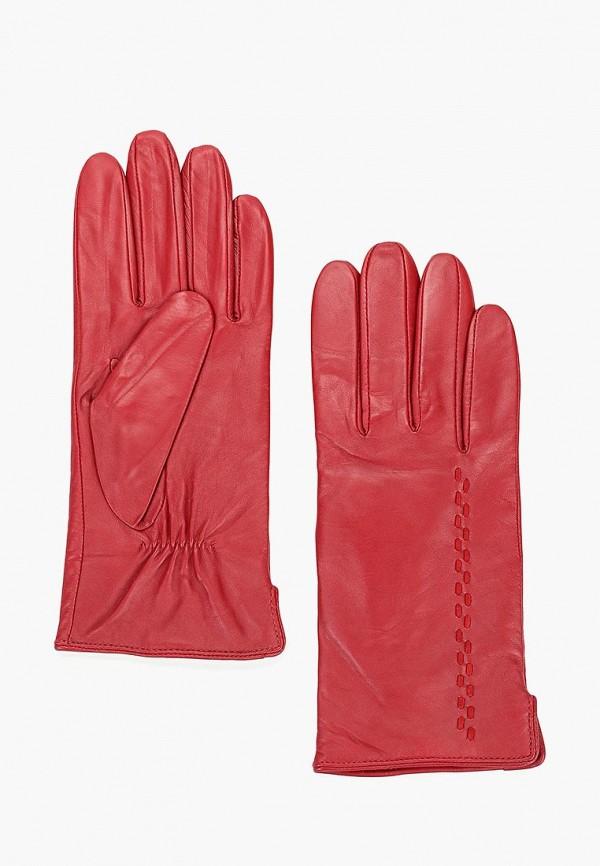 женские перчатки eleganzza, красные
