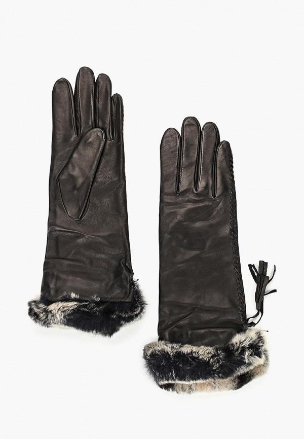 женские перчатки eleganzza, черные