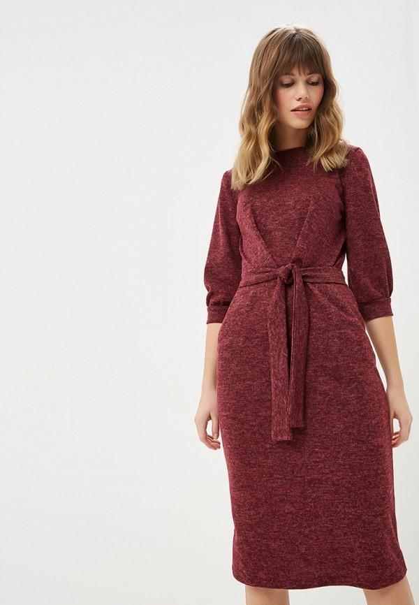 женское повседневные платье alina assi, бордовое
