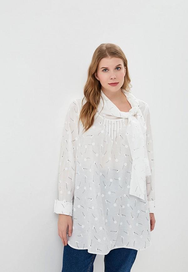 женская блузка berkline, белая