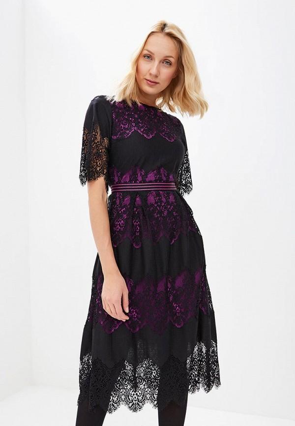 женское повседневные платье ksenia knyazeva, черное