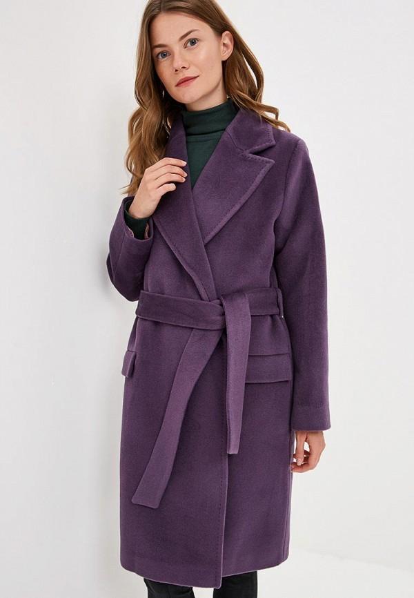 Купить Пальто Lezzarine, mp002xw1h728, фиолетовый, Осень-зима 2018/2019