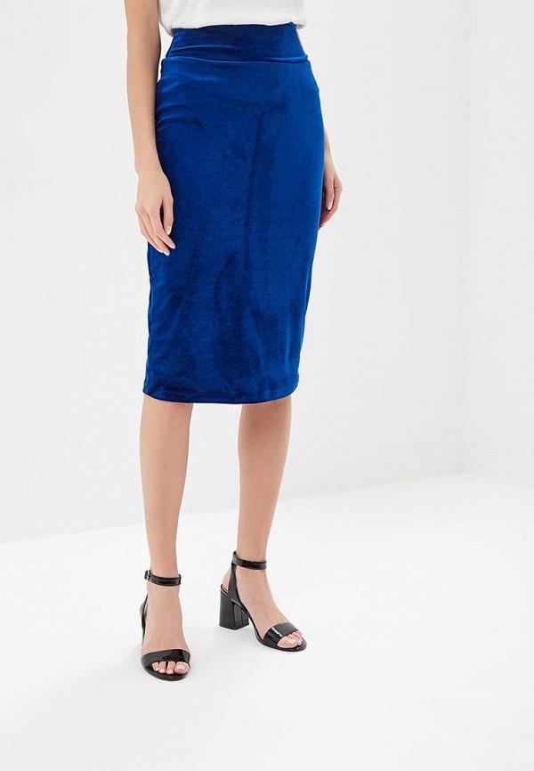 женская зауженные юбка alina assi, синяя